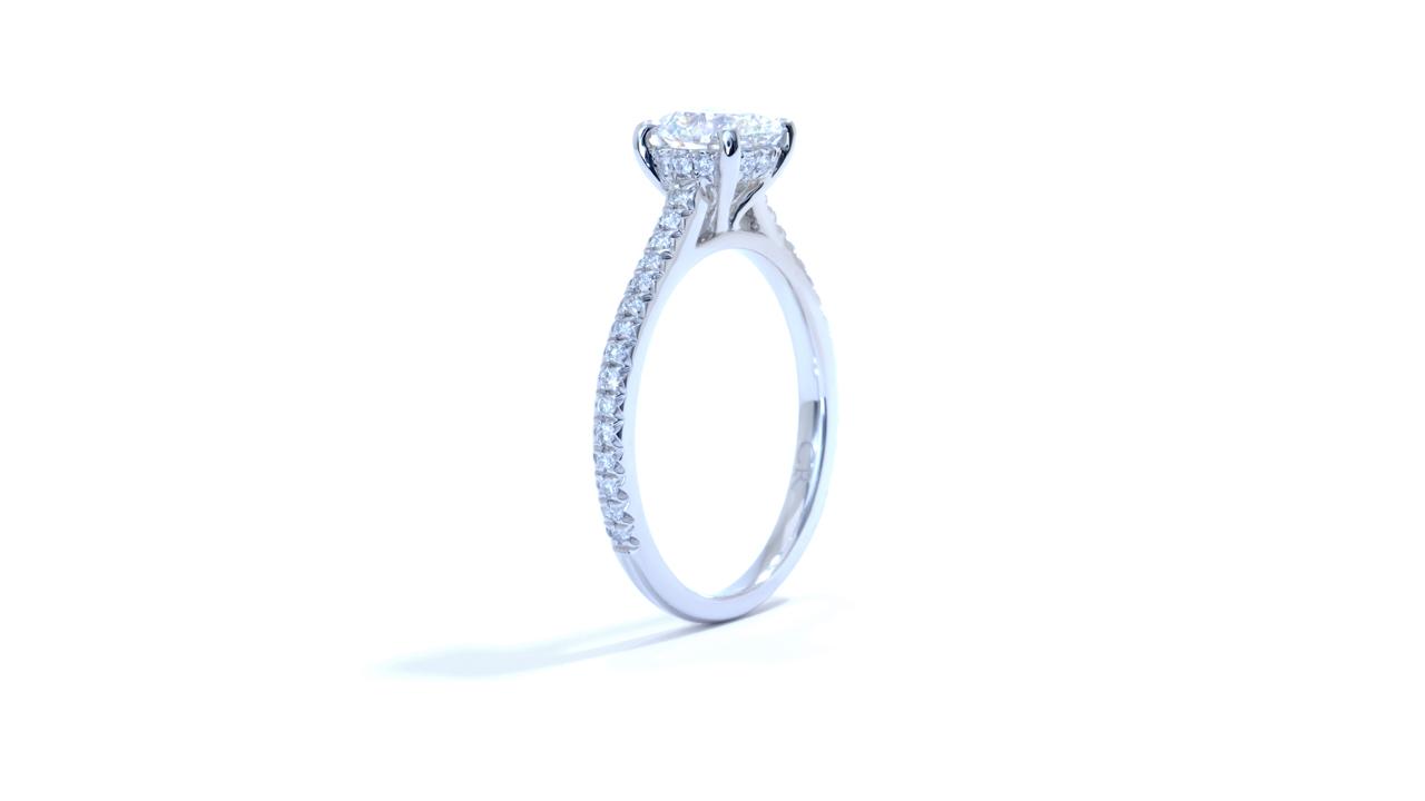 ja8366_d6212 - Platinum Solitaire Diamond Ring at Ascot Diamonds