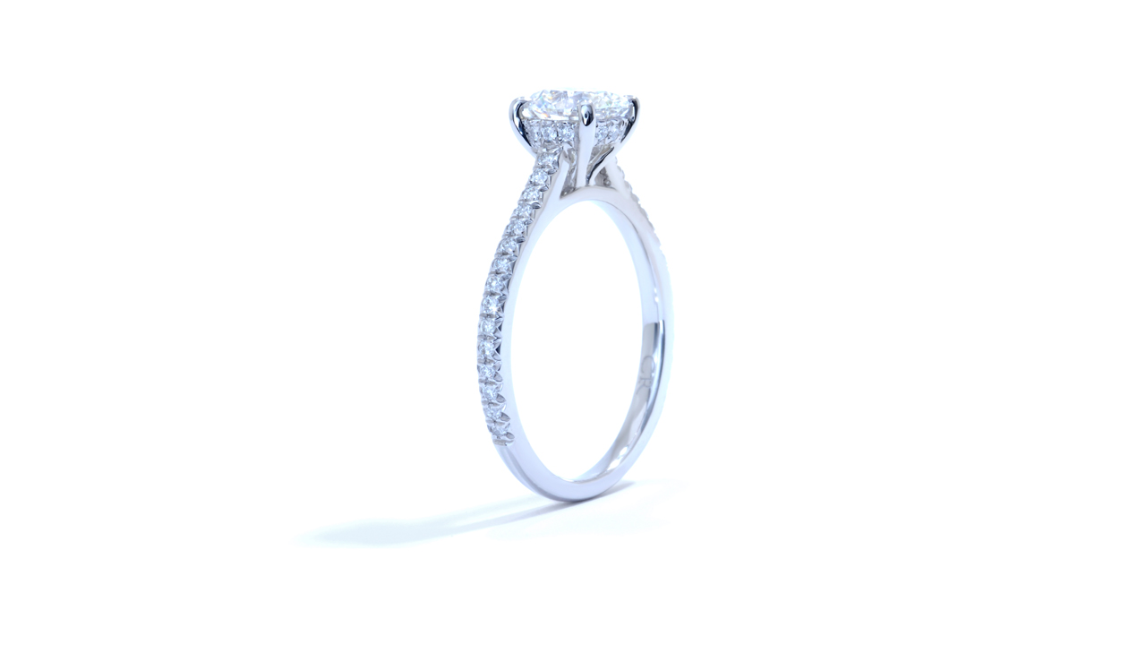 ja8367_d5520 - 1.28 ct. Round Diamond Engagement Ring at Ascot Diamonds