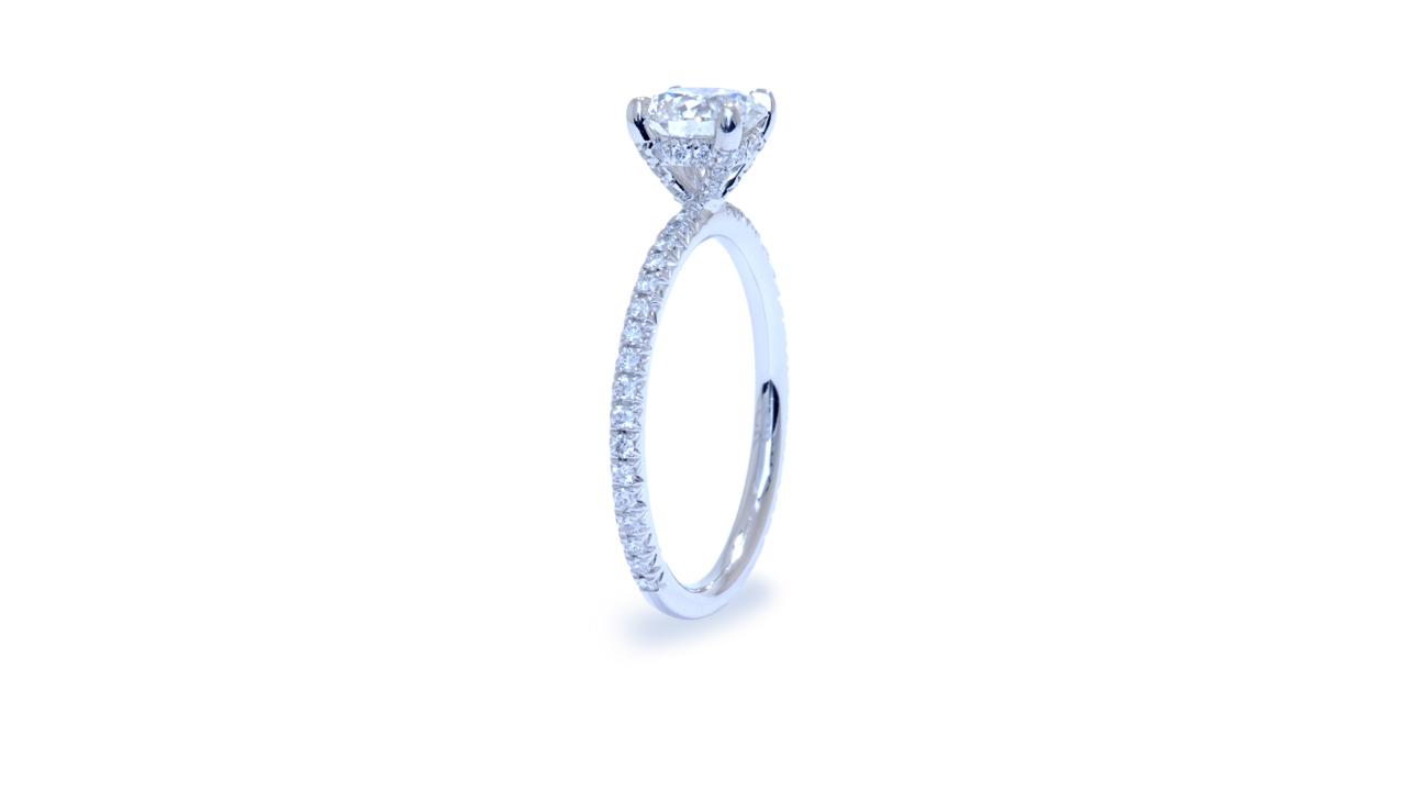 ja8480_lgd1528 - 1 ct Lab Diamond Solitaire Ring at Ascot Diamonds