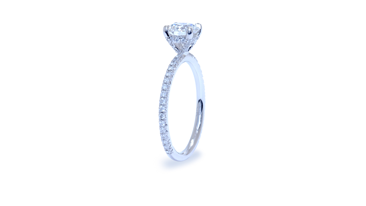 ja8482_d5017 - Solitaire Round Diamond Engagement Ring at Ascot Diamonds