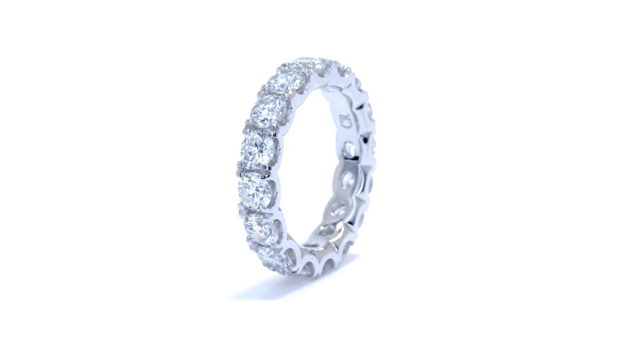 ja8554 - 3.75 carat Platinum Diamond Eternity Ring at Ascot Diamonds