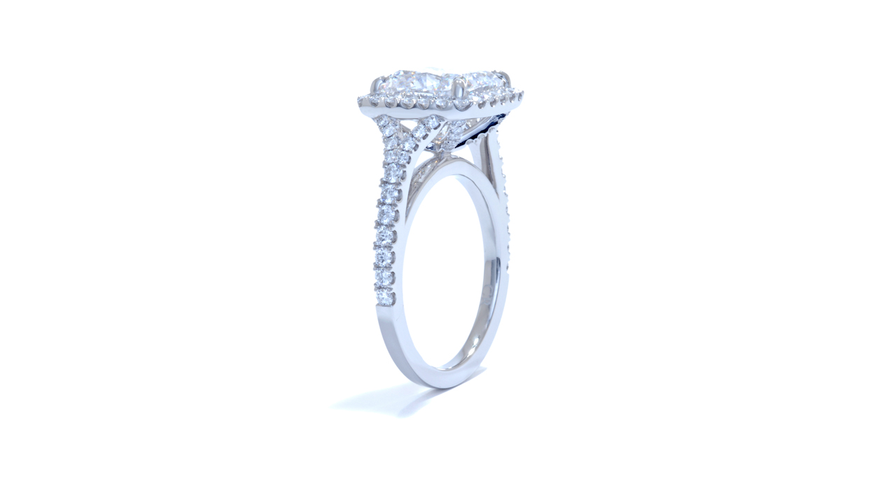 ja8702_d1830a - 4 ct Cushion Cut Diamond Ring at Ascot Diamonds