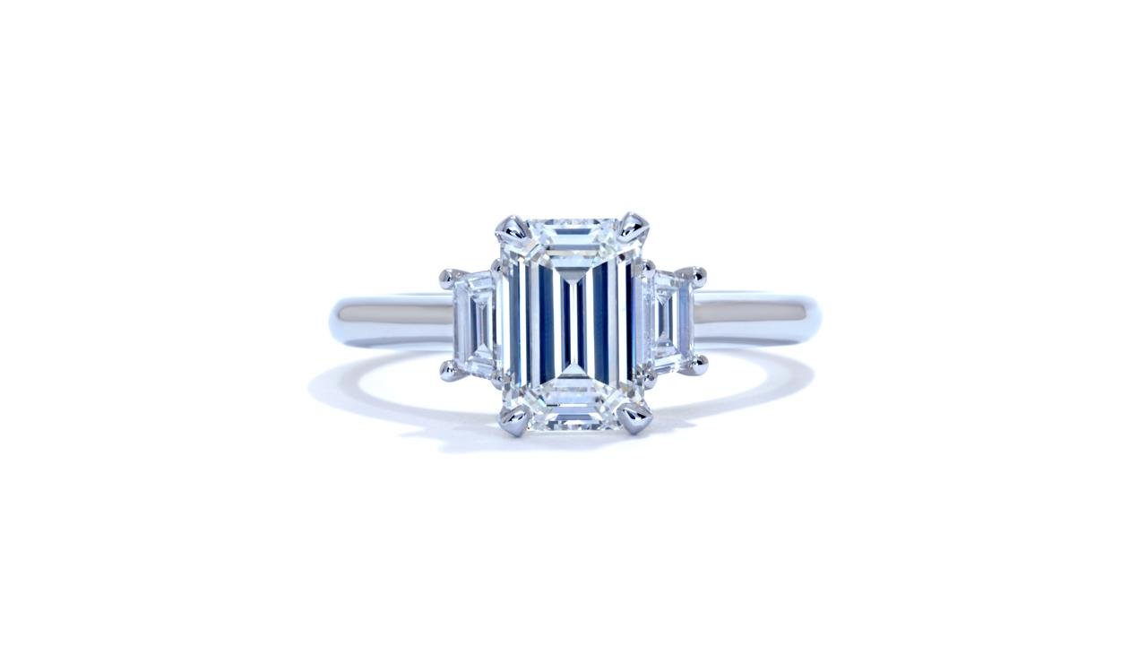 ja8712_d5488 - Emerald Cut Engagement Ring at Ascot Diamonds