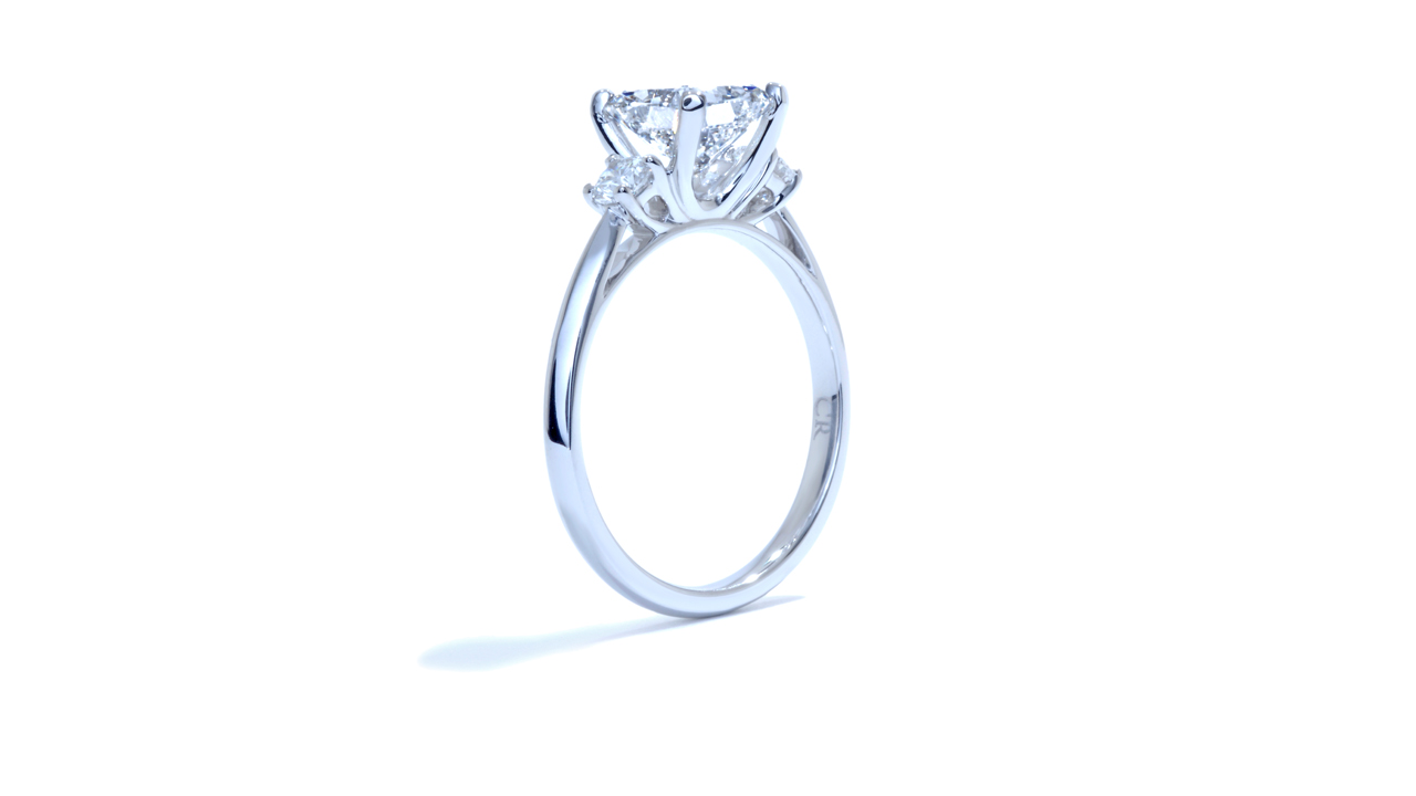 ja9075_lgd1130 - 1 carat Lab Grown Diamond Ring at Ascot Diamonds