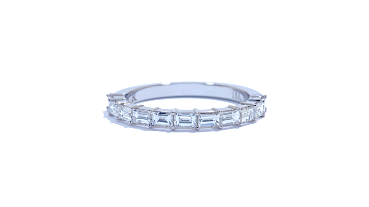 ja9131 - Baguette Diamond Wedding Ring at Ascot Diamonds