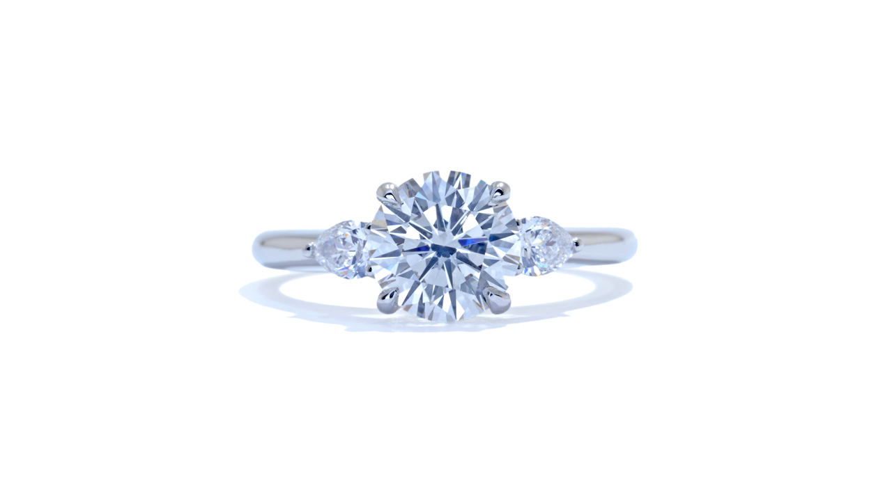 ja9225_d6011 - Modern Three Stone Ring at Ascot Diamonds