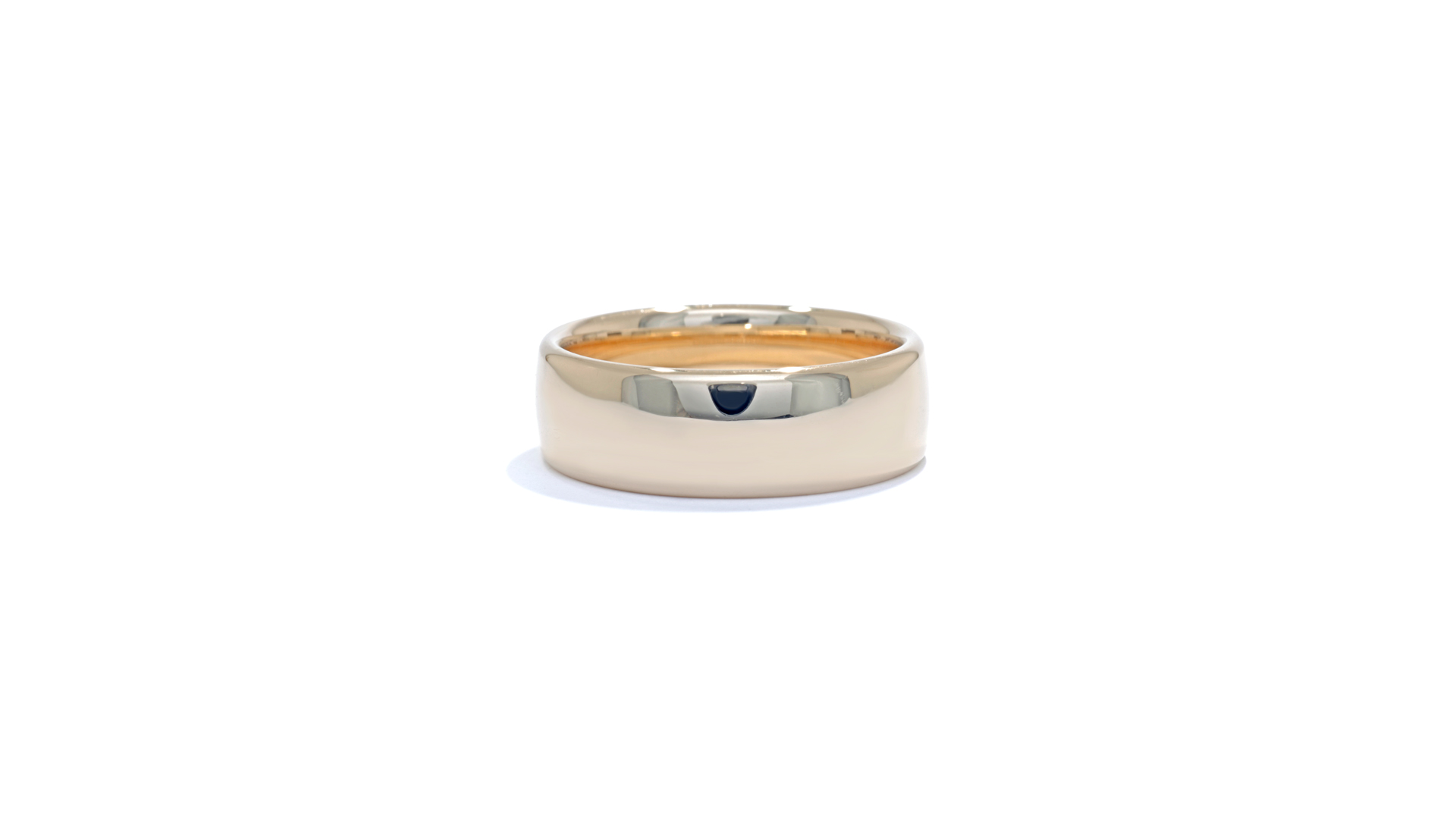 ja9269 - Comfort Fit 14k Yellow Gold Band at Ascot Diamonds