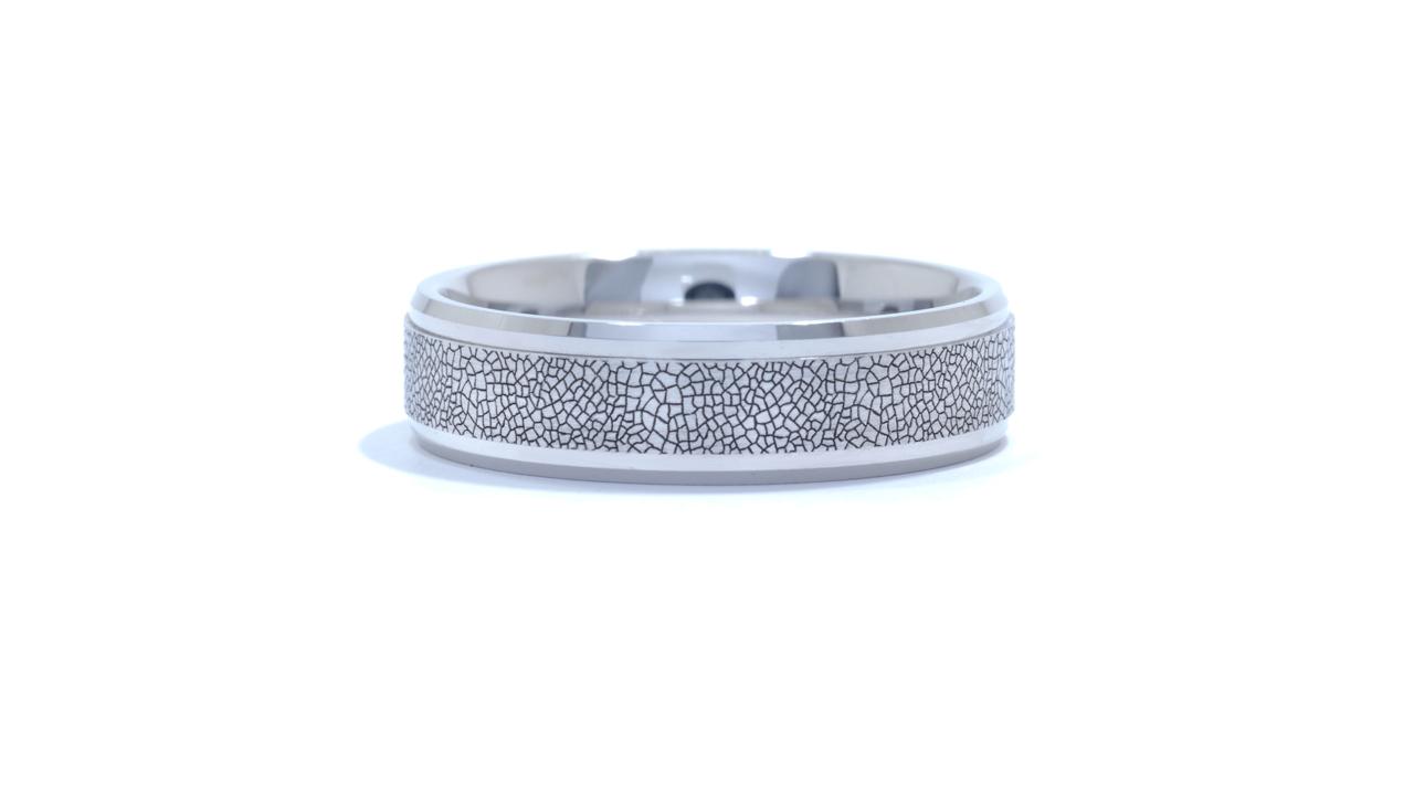 ja9305 - Engraved Men's Wedding Band at Ascot Diamonds