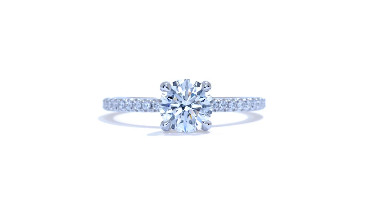 ja9559_d6366 - Delicate Diamond Engagement Ring at Ascot Diamonds
