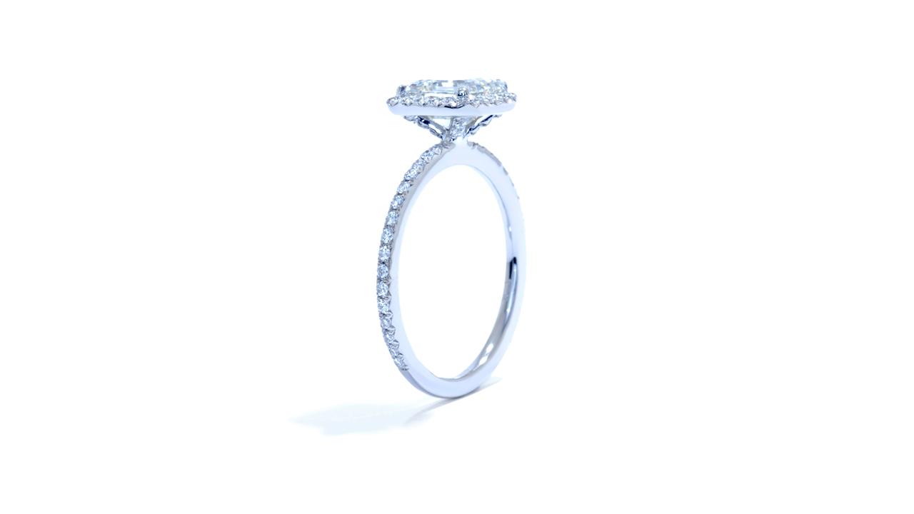 ja9689_d6288 - 2 ct Asscher Cut Diamond Ring - Halo Style at Ascot Diamonds