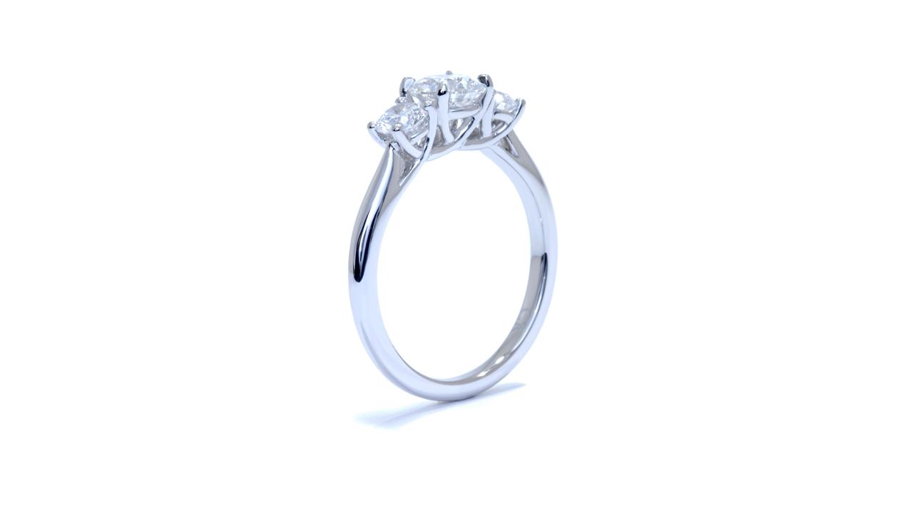ja9796_d5454 - Platinum Three Stone Ring at Ascot Diamonds