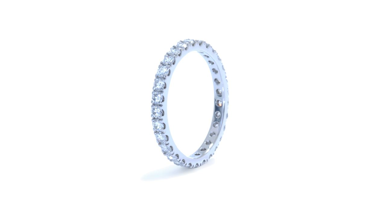 ja9963 - 0.95 ct Diamond Eternity Wedding Band at Ascot Diamonds