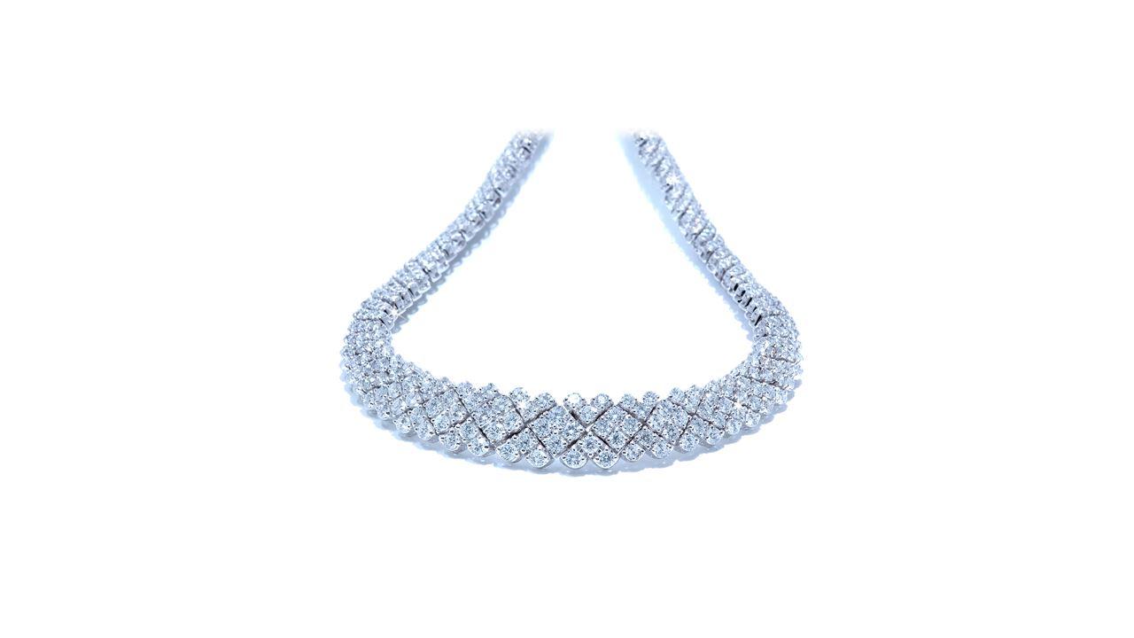 jb1005 - Eternity Diamond Necklace 15 ct. tw at Ascot Diamonds
