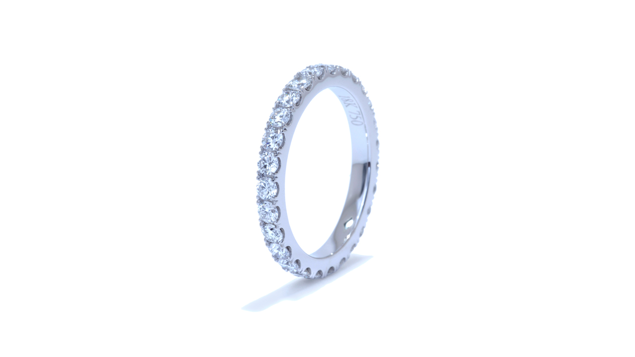 jb1142 - 0.97ct. Diamond Eternity Band at Ascot Diamonds