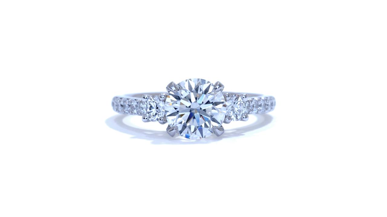jb1145_lgd1482 - 1.7 ct Lab Round Diamond Engagement Ring at Ascot Diamonds