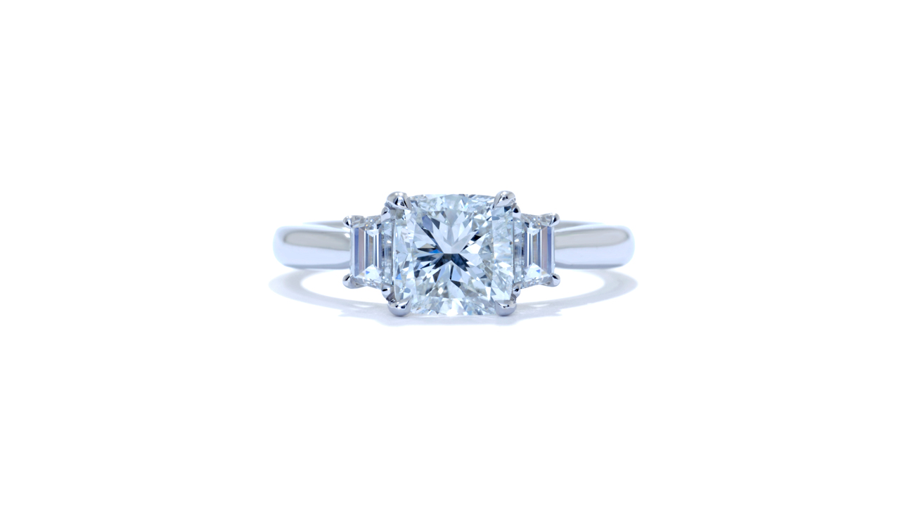 jb1275_d5038 - Three Stone Diamond Engagement Ring at Ascot Diamonds