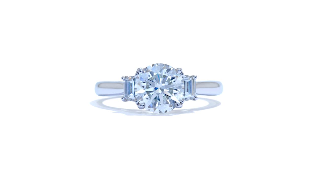 jb1275_lgd1584 - Three Stone Diamond Engagement Ring at Ascot Diamonds