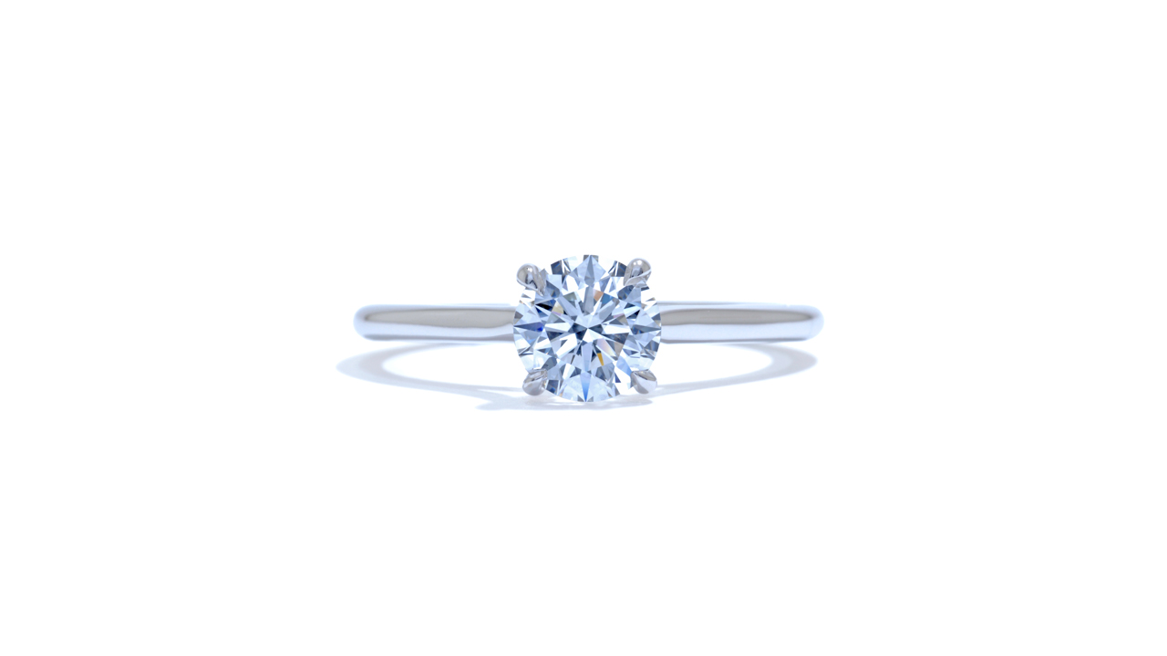 jb1325_lgd1034 - Round Cut Diamond Engagement Ring at Ascot Diamonds