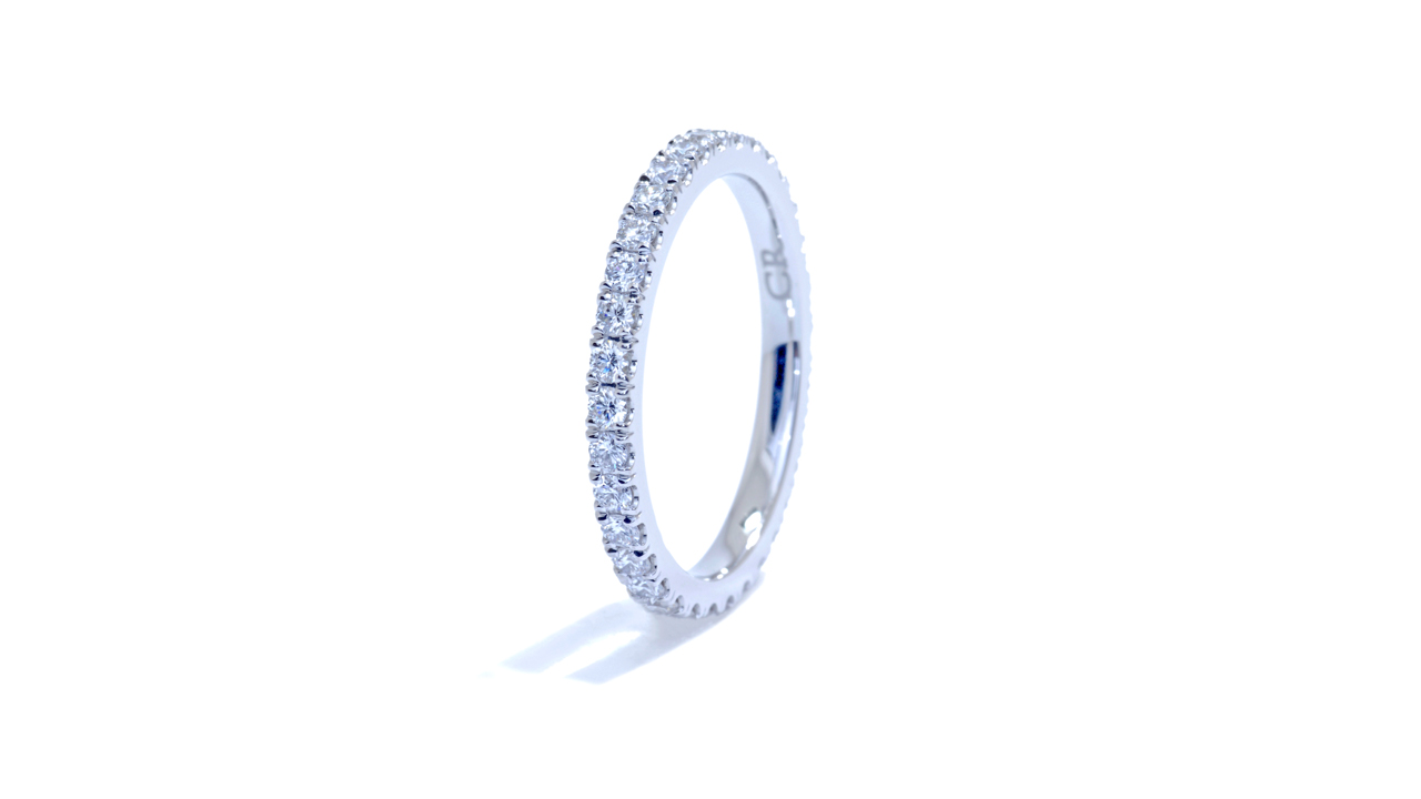 jb1408 - Classic Diamond Wedding Band at Ascot Diamonds