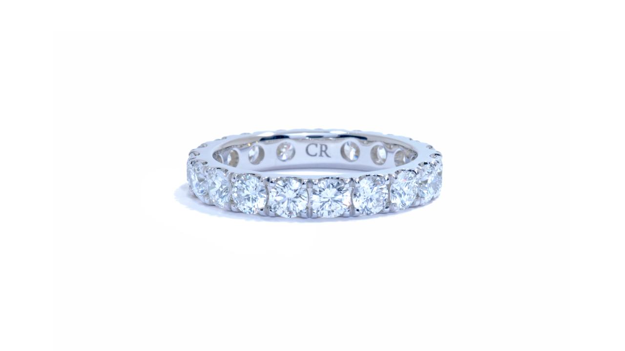 jb1411 - 2 ct. Diamond Eternity Band (in 18k White Gold) at Ascot Diamonds