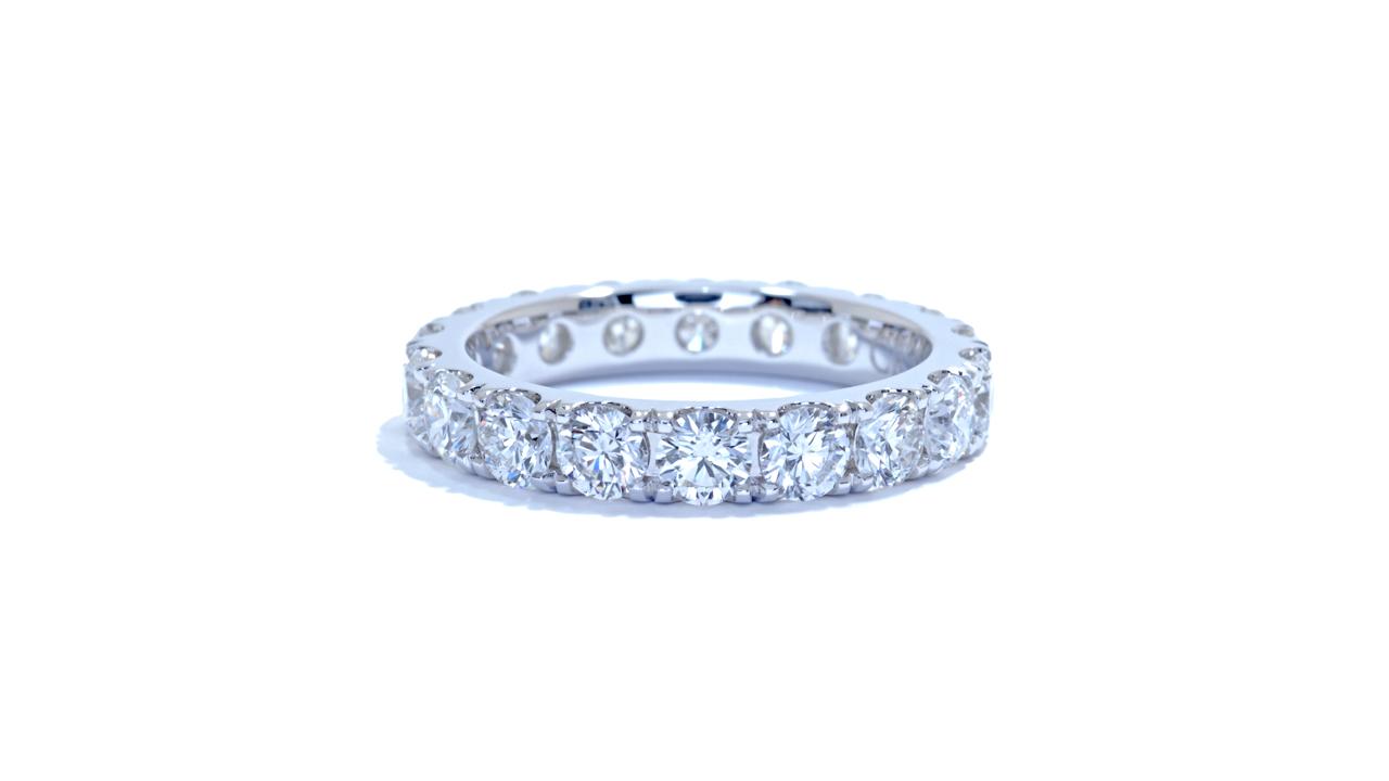 jb1412 - 2.54ct Elegant Diamond Eternity Band at Ascot Diamonds