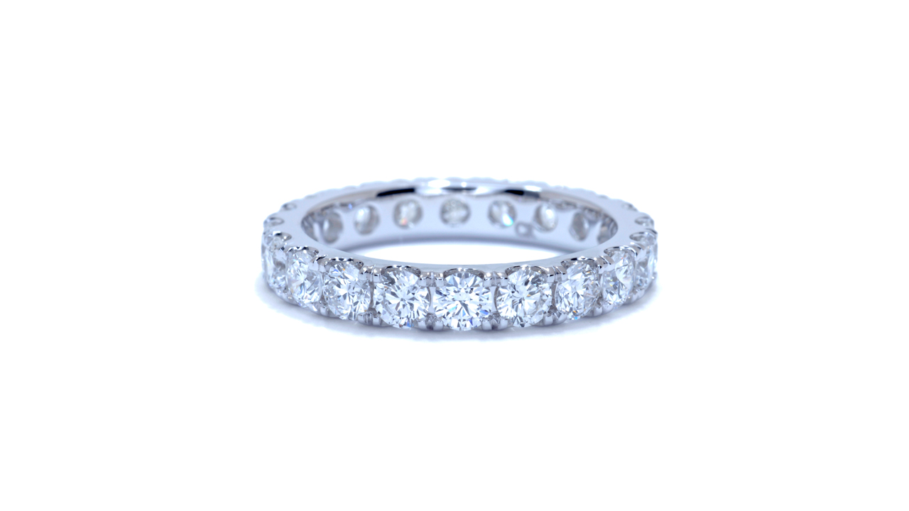 jb1414 - Eternity Diamond Wedding Band at Ascot Diamonds