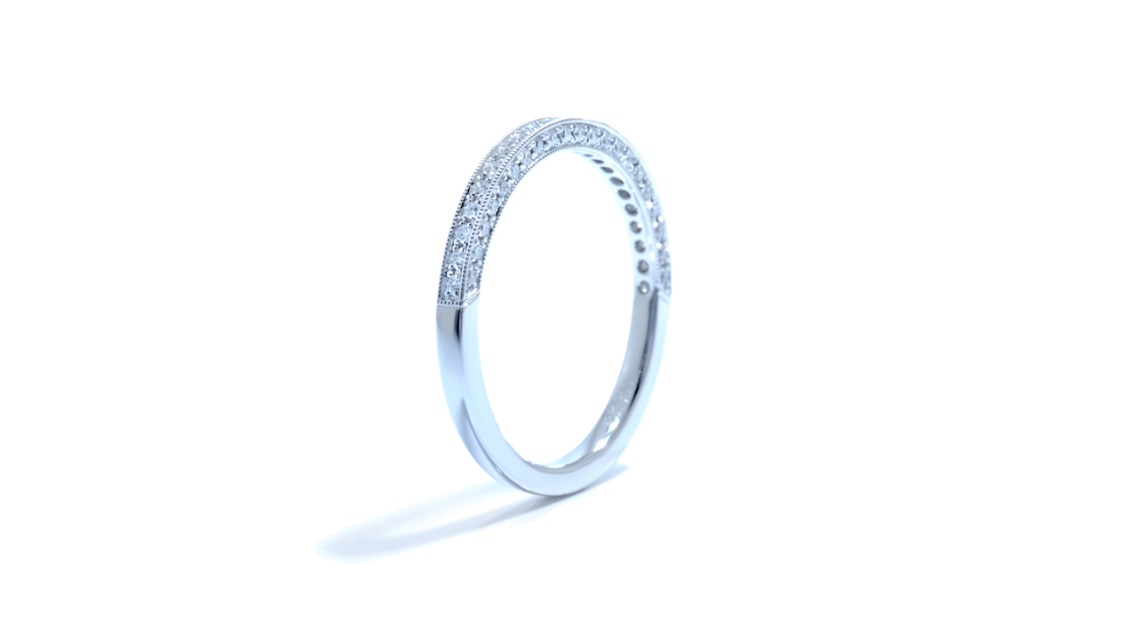jb1481 - Delicate Vintage Diamond Band 0.20 carat at Ascot Diamonds