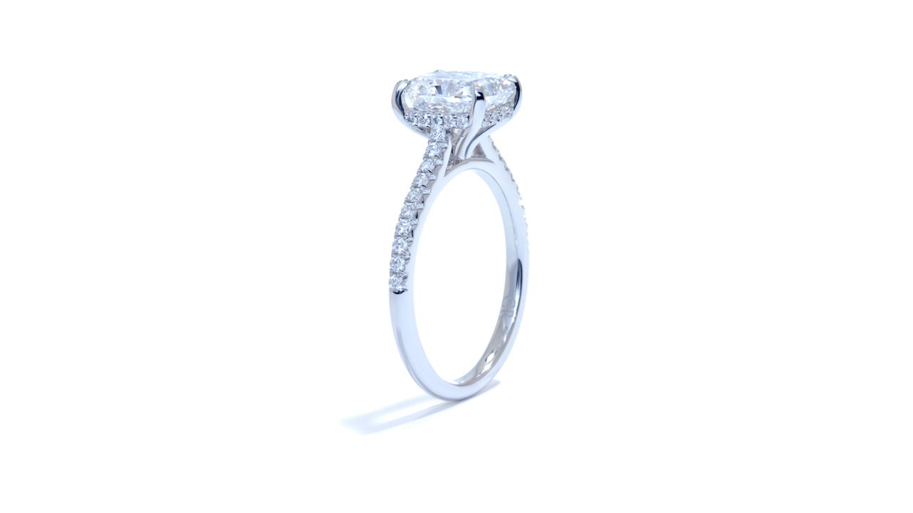 jb1486_d5697 - 2 ct. Solitaire Radiant Diamond Ring at Ascot Diamonds