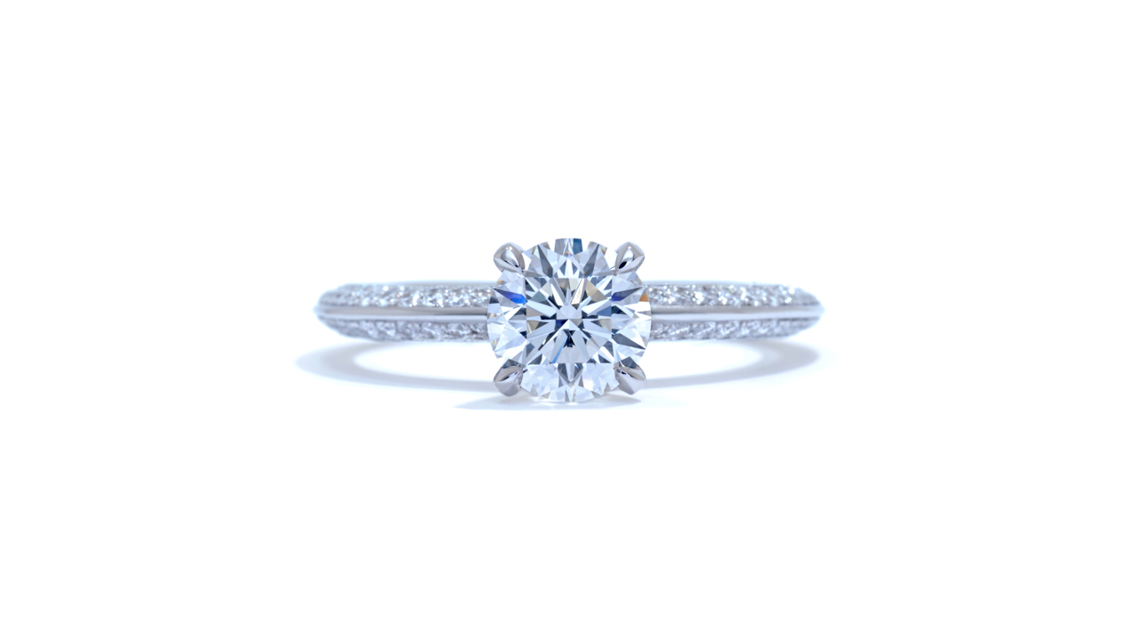 jb1528_d5435 - Pavé Style Engagement Ring at Ascot Diamonds