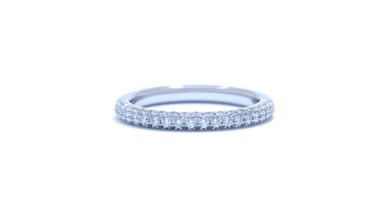 jb1638 - Pave Set  Wedding Band at Ascot Diamonds