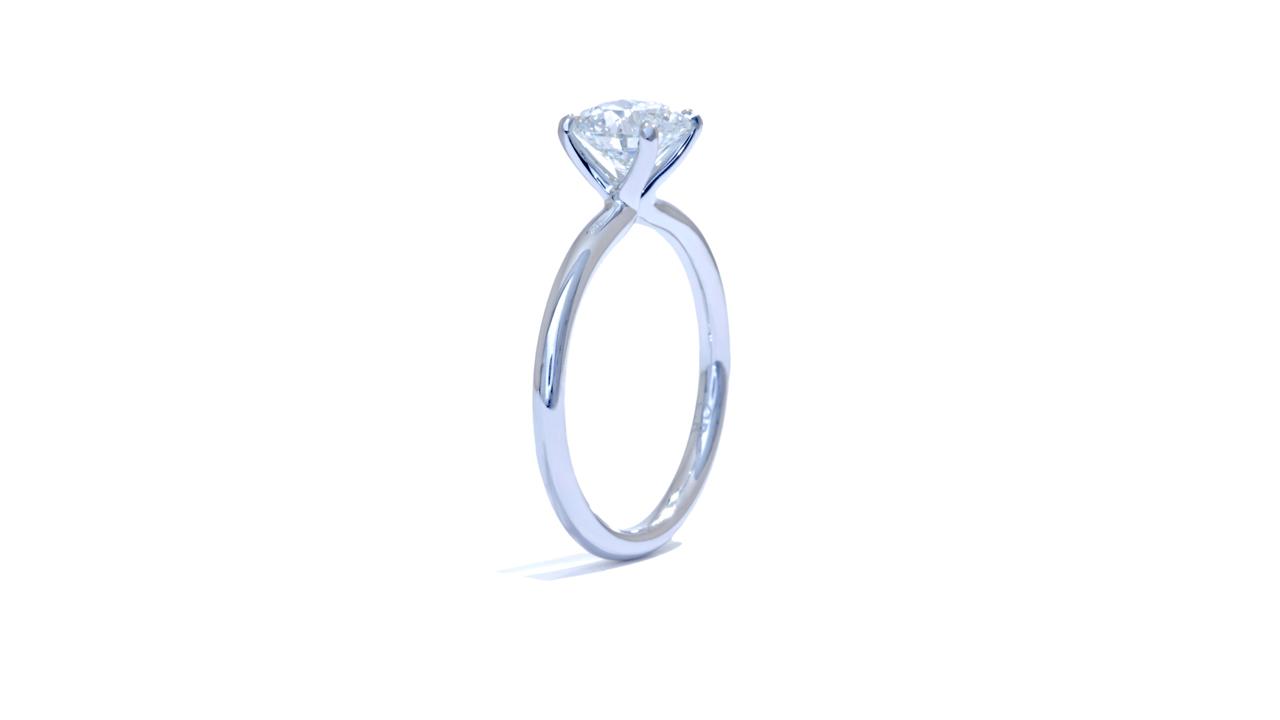 jb1709_d5734 - Round Cut Diamond Engagement Ring at Ascot Diamonds
