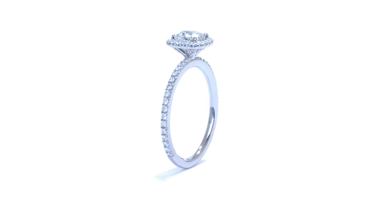 jb1716_d6056 - Petite Halo Diamond Ring at Ascot Diamonds
