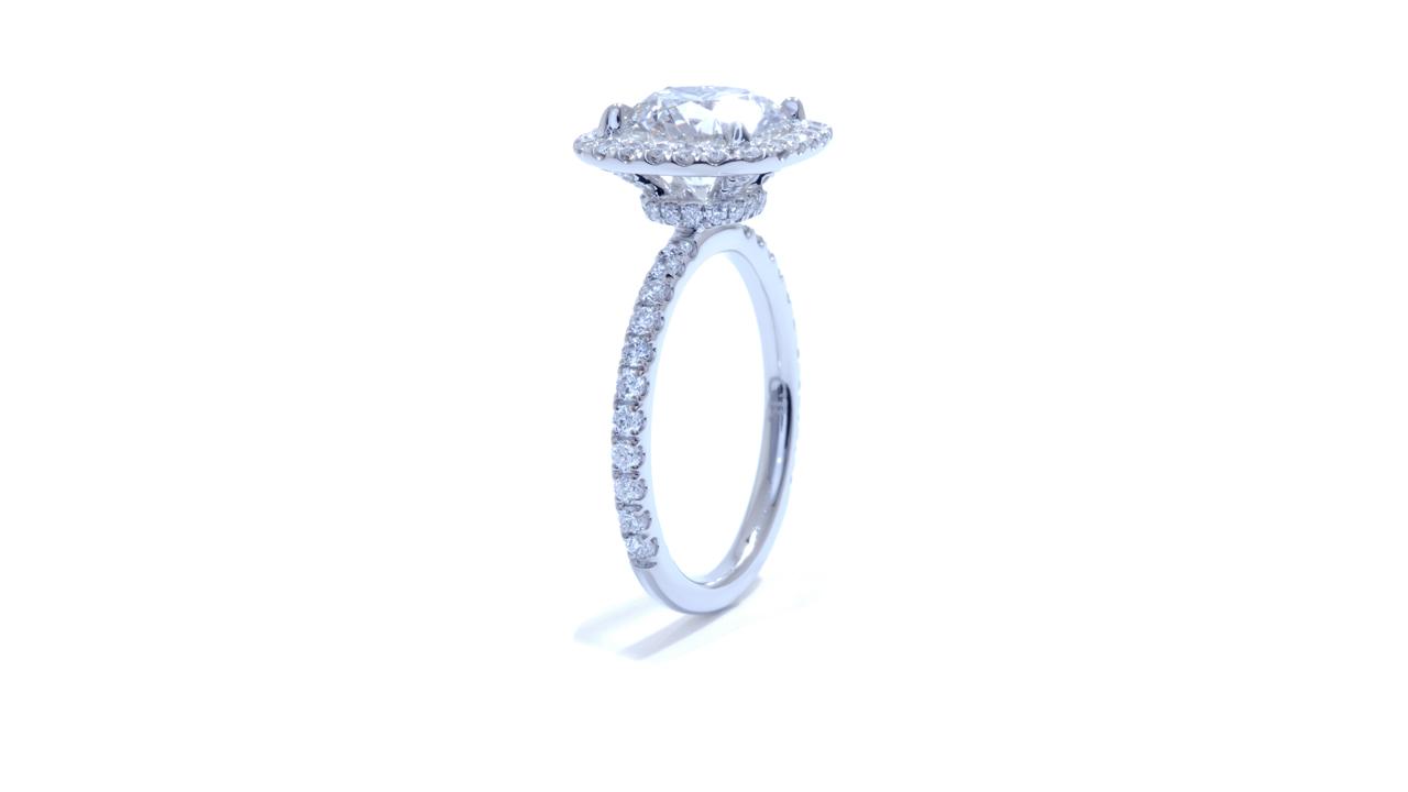 jb1722_d5720 - 2.4 ct. Round Diamond - Halo Engagement Ring at Ascot Diamonds