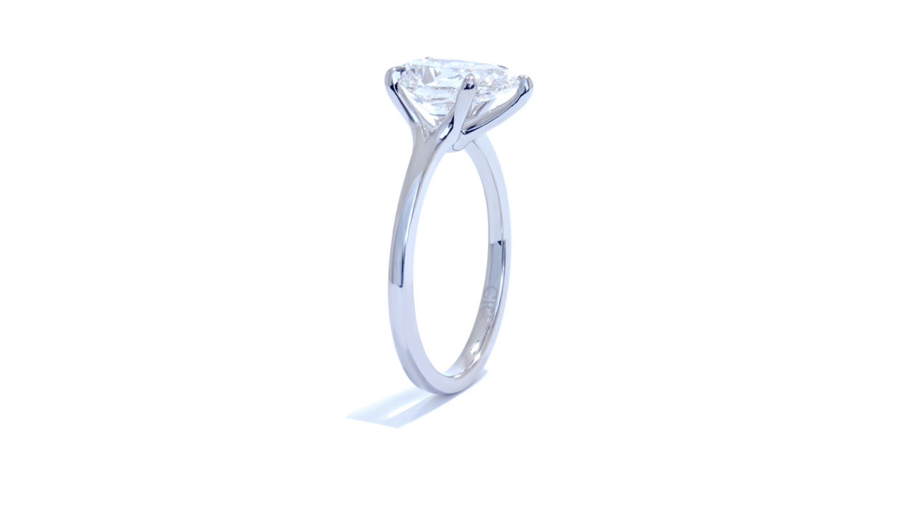 jb1917_d5656 - Pear Shaped Solitaire Engagement Ring at Ascot Diamonds