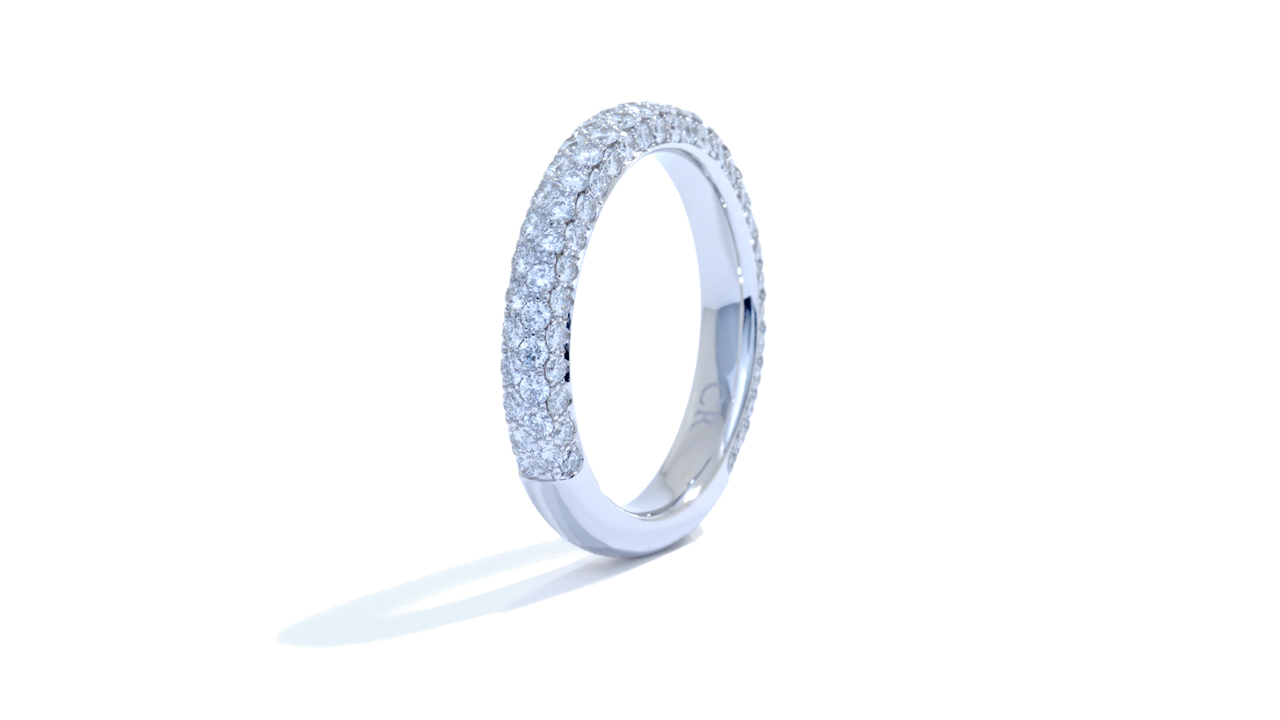 jb2045 - Unique 1 Carat Diamond Wedding Band at Ascot Diamonds