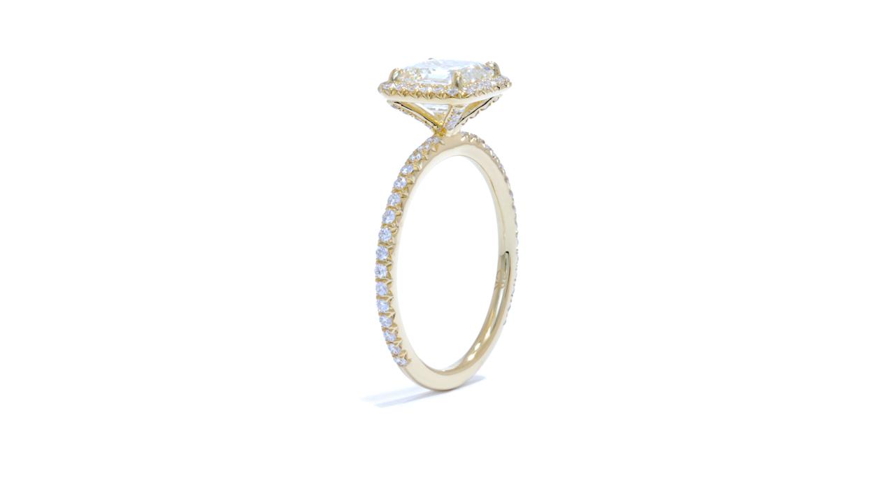 jb2104_d2740a - Asscher Cut Diamond Halo Engagement Ring at Ascot Diamonds