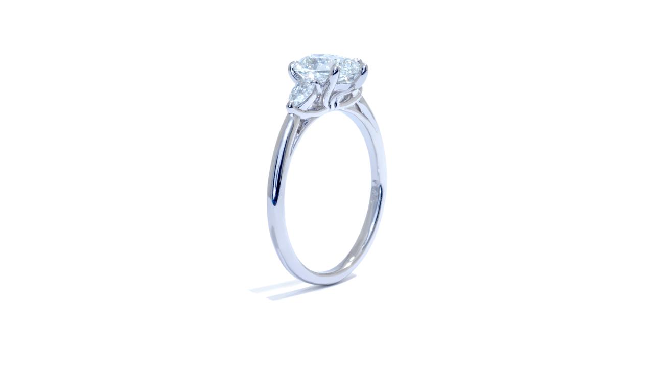 jb2295_d6137 - 1 ct. Pear Shape Diamond Ring at Ascot Diamonds