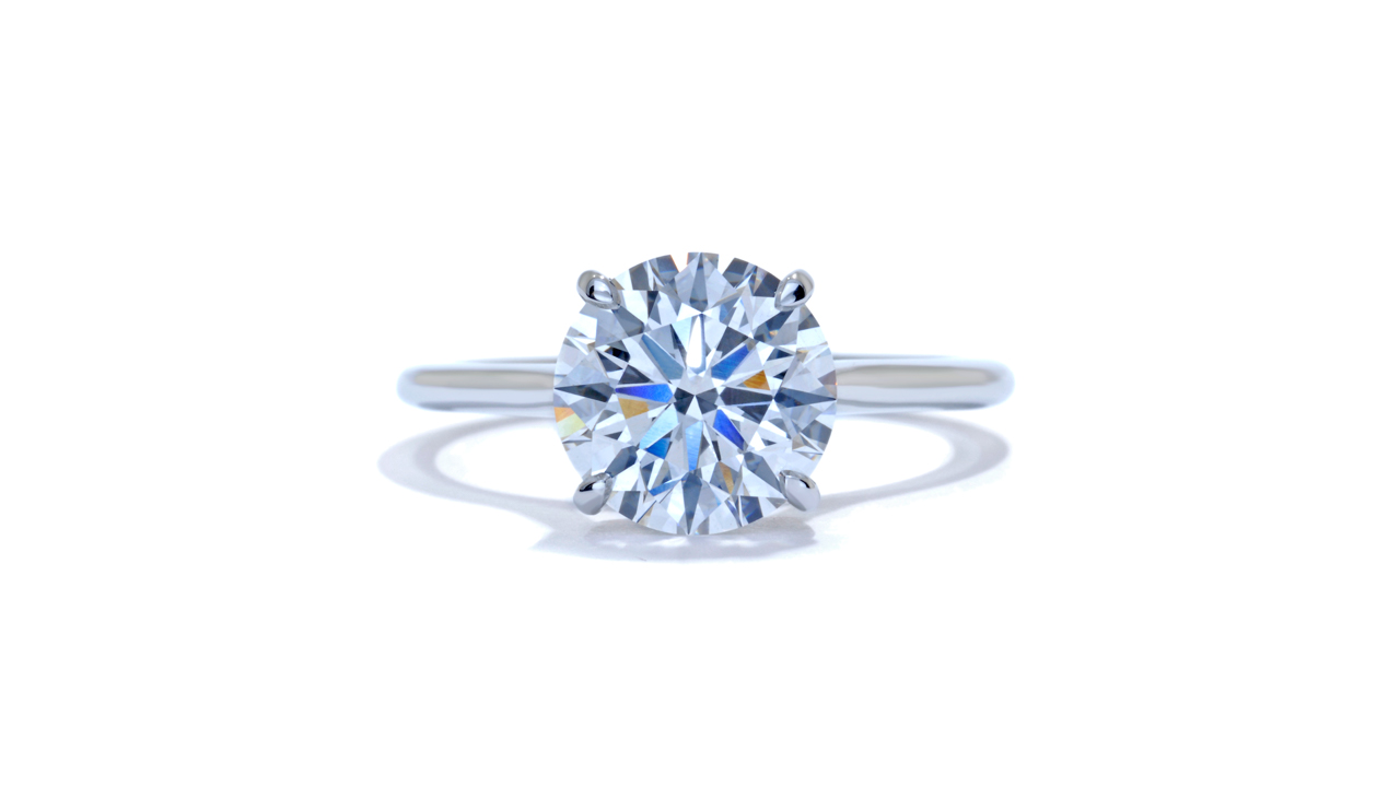 jb2934_lgd1080 - 2.3 ct Round Cut Lab Grown Diamond Ring at Ascot Diamonds