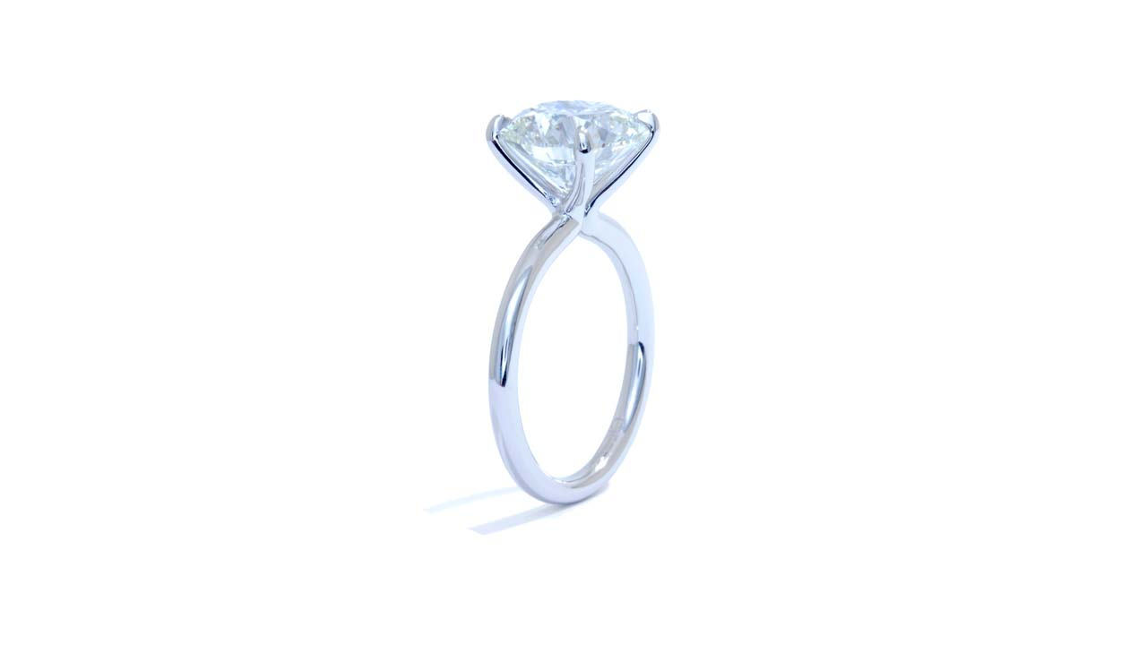 jb3097_d6421 - Round Cut Diamond Ring   4 ct at Ascot Diamonds