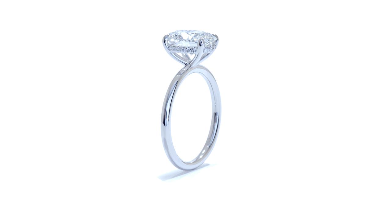 jb3156_d6024 - 3ct Oval Cut Engagement Ring at Ascot Diamonds