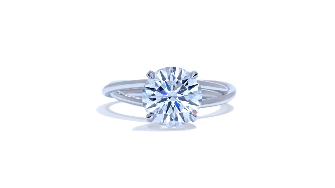 jb3293_lgd1118 - Braided Diamond Engagement Ring at Ascot Diamonds