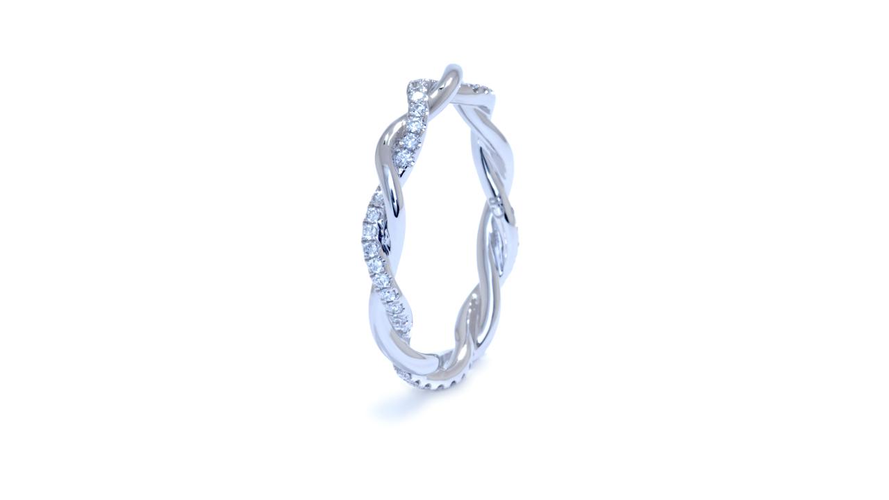 jb3428 - Twisted Diamond Wedding Band at Ascot Diamonds