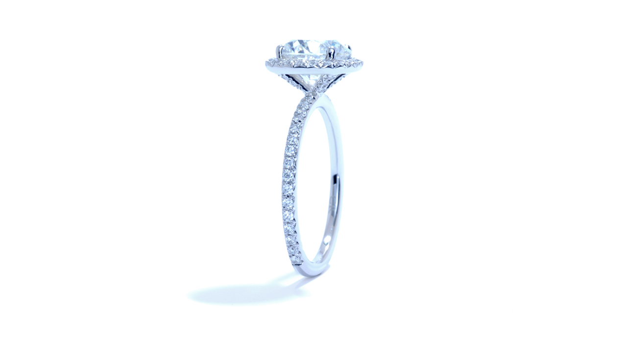 jb3569_lgd1325 - Round Lab Created Diamond Ring at Ascot Diamonds