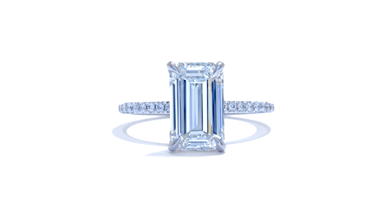 jb3927_d6512 - 3 ct. Emerald Cut Diamond Solitaire at Ascot Diamonds