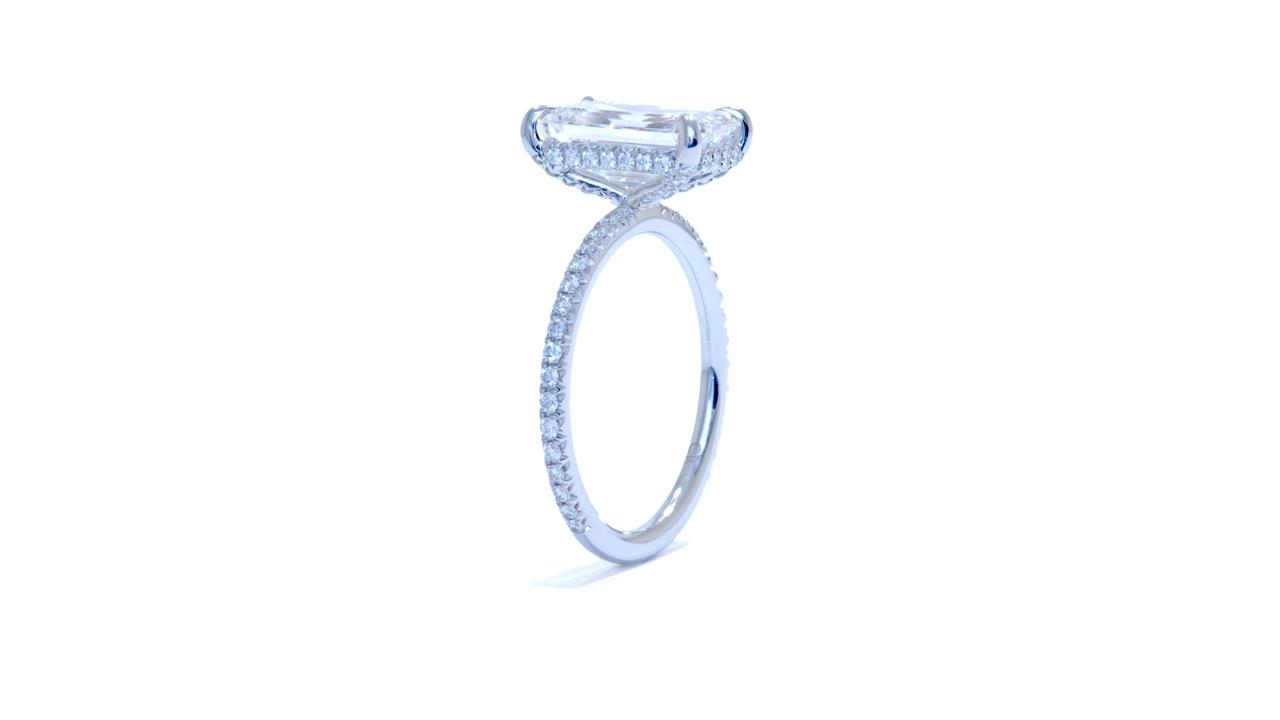 jb3927_d6823 - 2.6 ct. Emerald Cut Diamond Solitaire at Ascot Diamonds