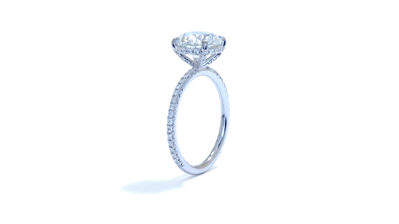 jb4195_lgd1371 - 2.50ct Lab Grown Diamond Engagement Ring at Ascot Diamonds