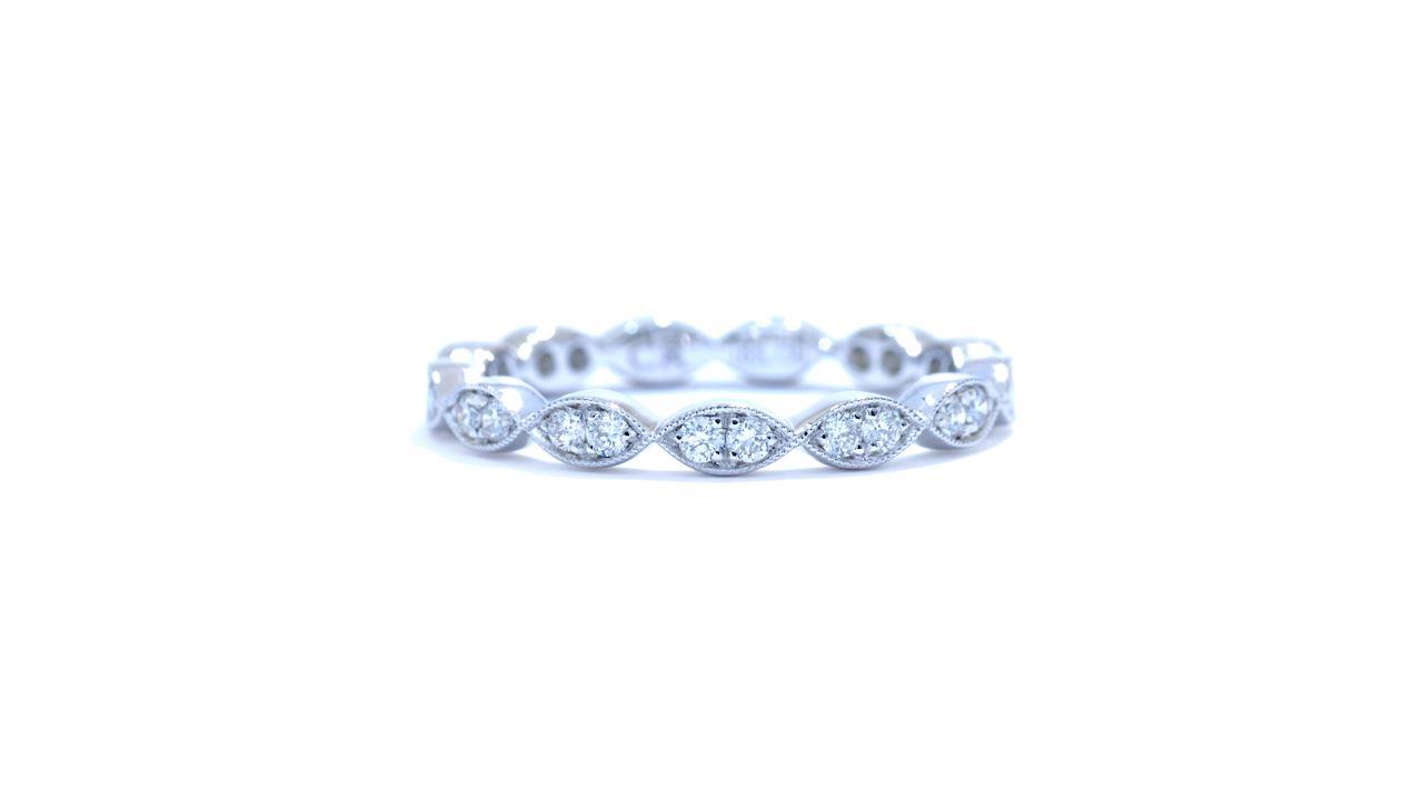 jb4201 - Marquise Design Diamond Ring 0.35 ct. tw.   at Ascot Diamonds