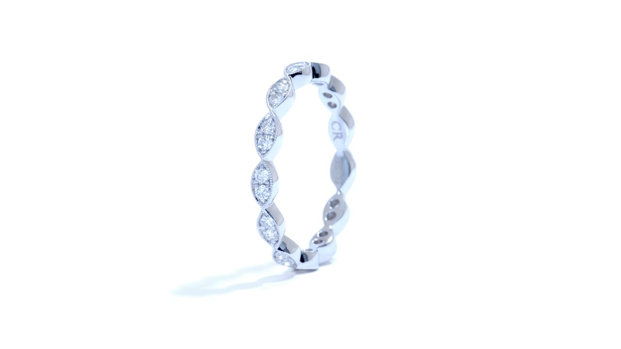 jb4202 - Stacking Diamond Ring 0.35 ct. tw. (in 18k white gold) at Ascot Diamonds