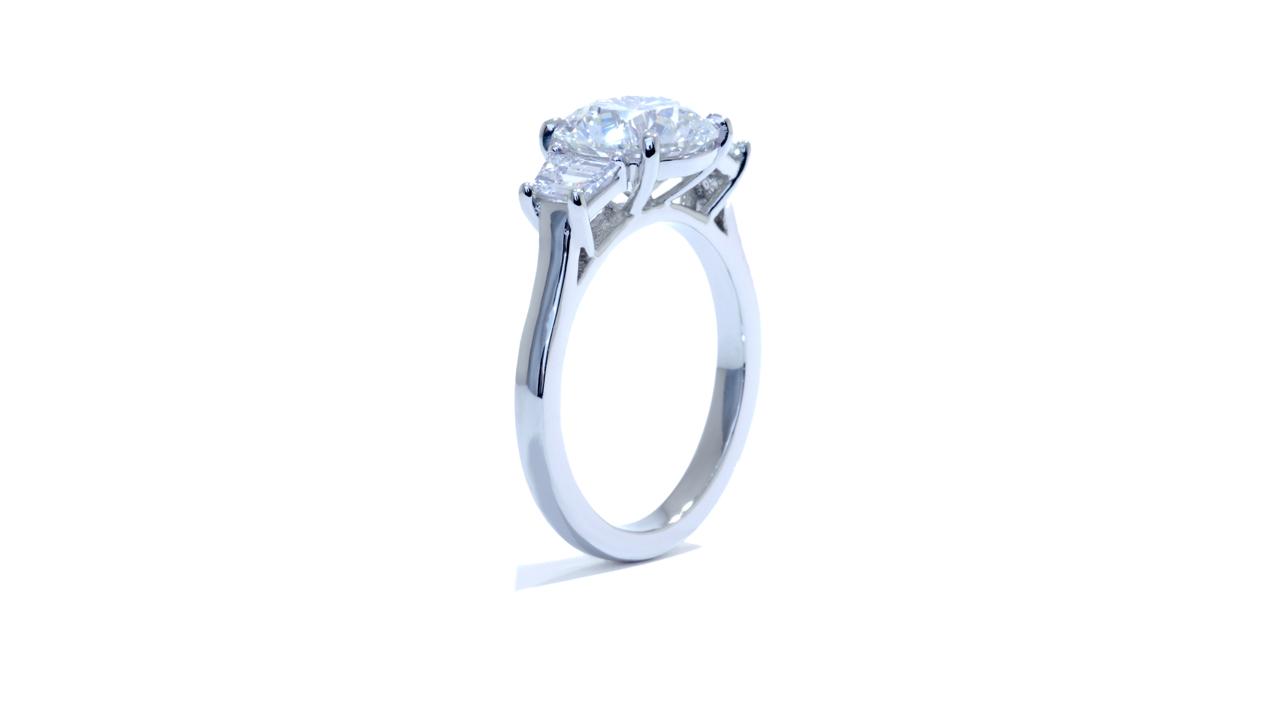jb4376_d5985 - Stunning Three Stone Diamond Engagment Ring at Ascot Diamonds
