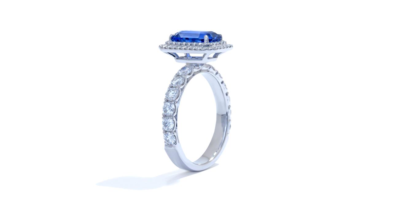 jb4418_bsap1003 - Blue Sapphire and Diamond Ring at Ascot Diamonds